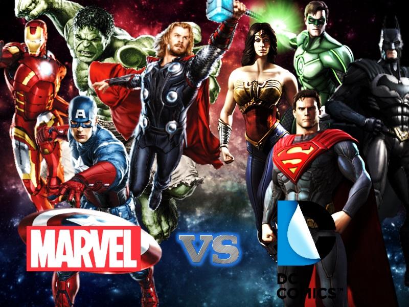 Marvel VS DC Wallpaper By ArtifyPics
