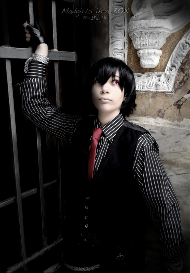 The dark butler by Madgirls-In-A-Box