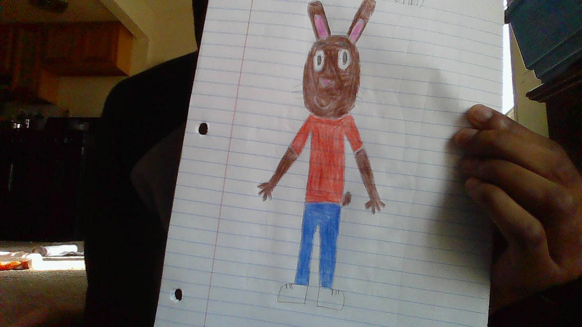 Robbie Bunny Drawing (My Furry Pal)