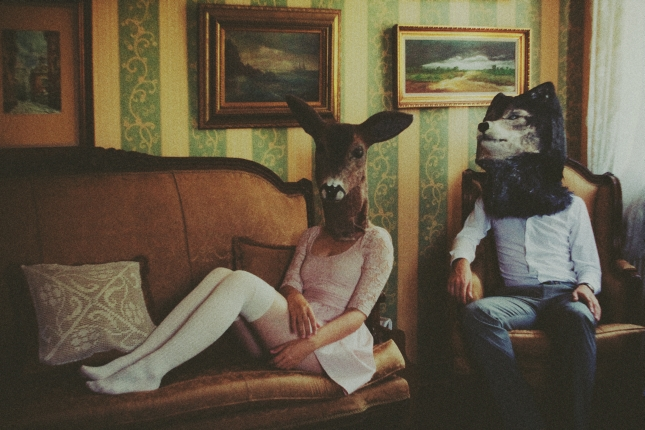 little deer and her lover by laura-makabresku