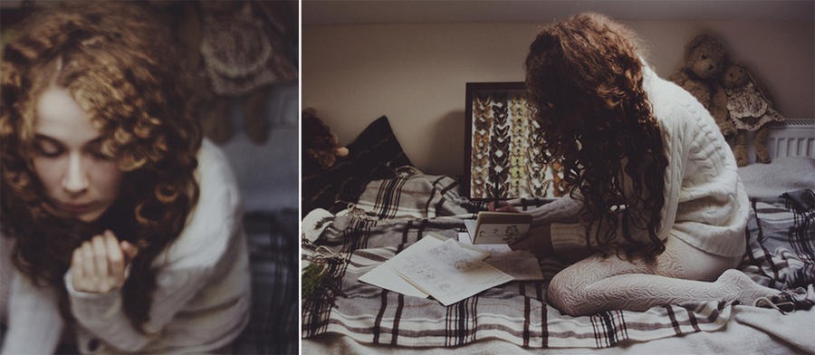 Working on tomorrow's photoset. by laura-makabresku