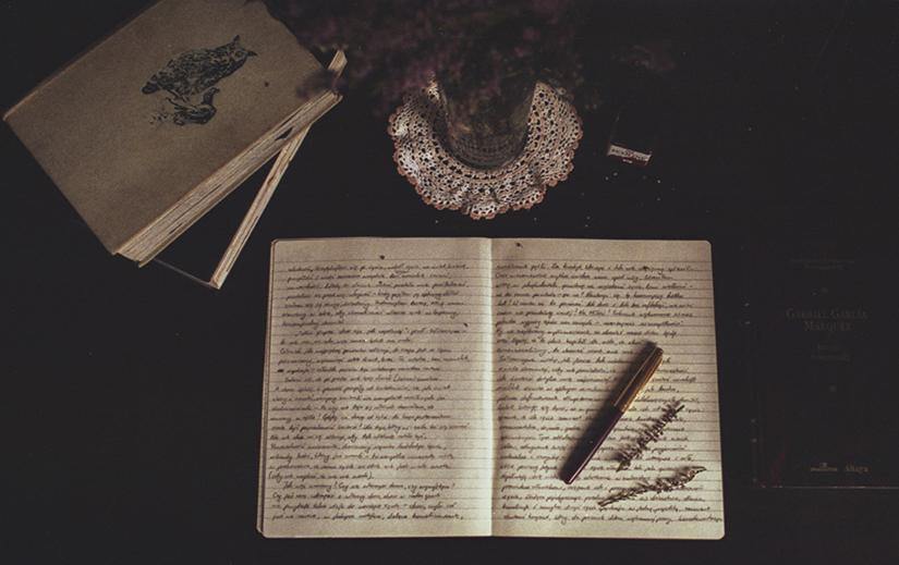 Dear Diary. by laura-makabresku