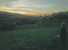 evening walks by laura-makabresku