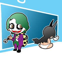 Batkid vs Jokerboy
