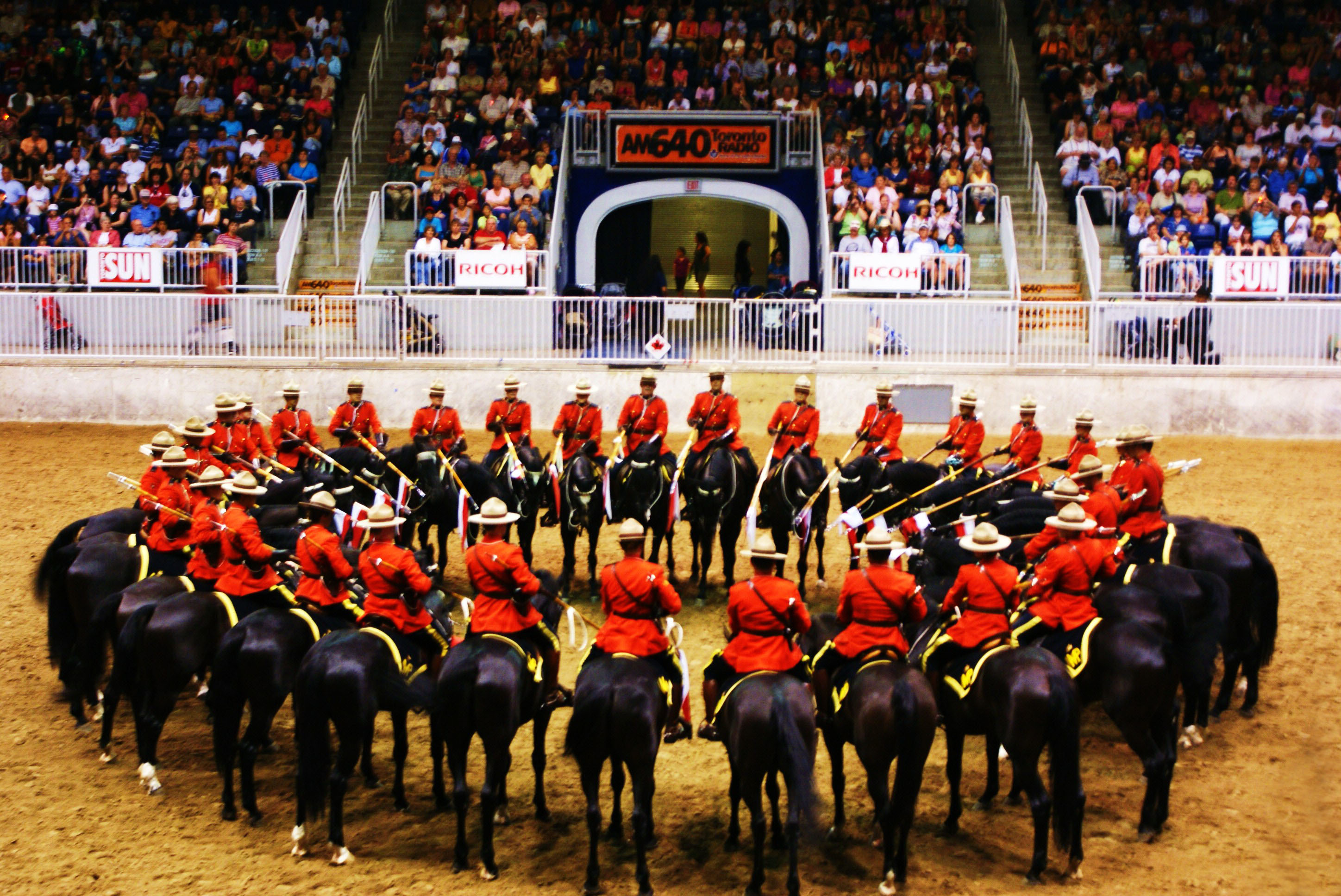 The Royal Canadian Mounties by MShah123