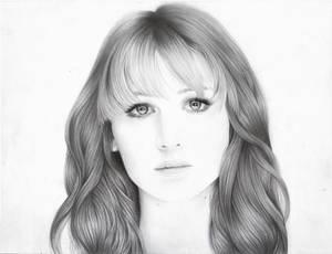 Jennifer Lawrence portrait