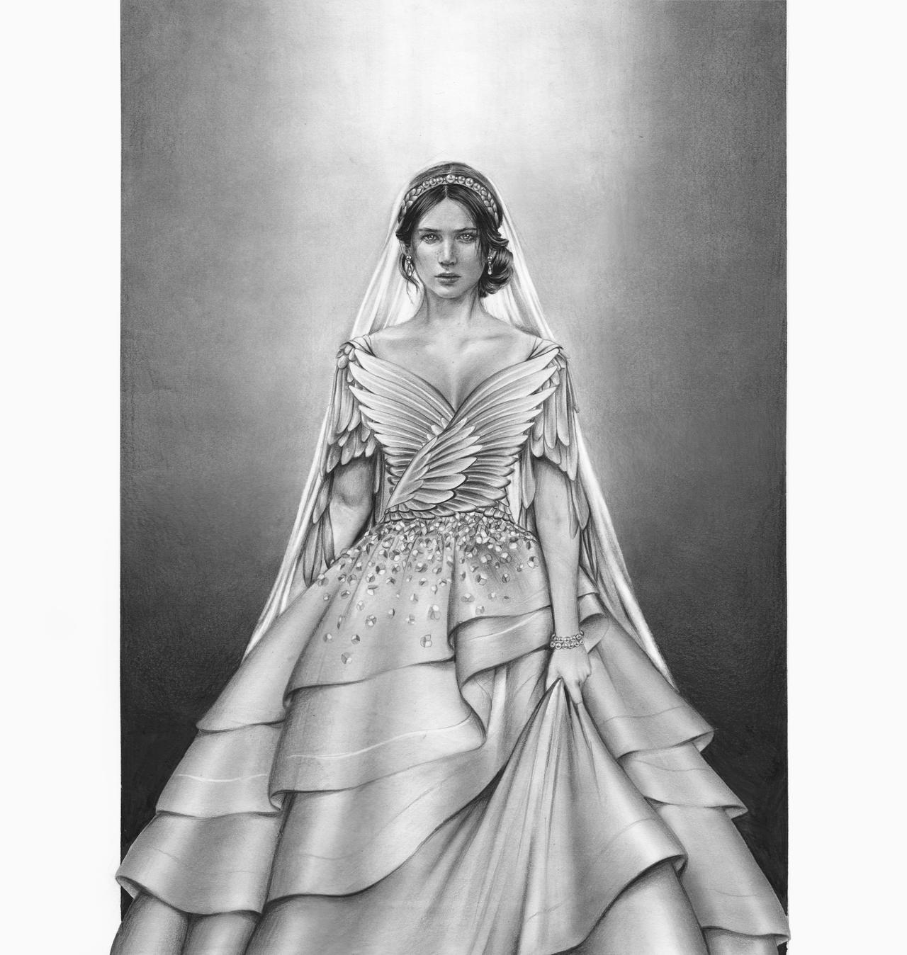 The hunger games catching fire katniss wedding dress designer - Katniss Wedding Dress By Mshah123 Katniss Wedding Dress By Mshah123