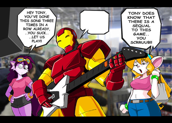 Can Never be a Guitar Hero by ShoNuff44