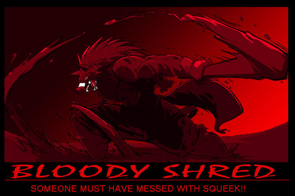 Janeia's Bloody Shred Com. by ShoNuff44