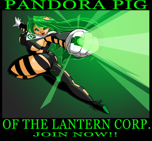 Brian B. Commish GL Pandora by ShoNuff44