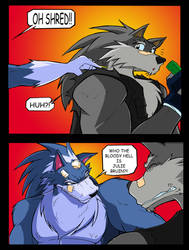 Wolf meets Wolf by ShoNuff44