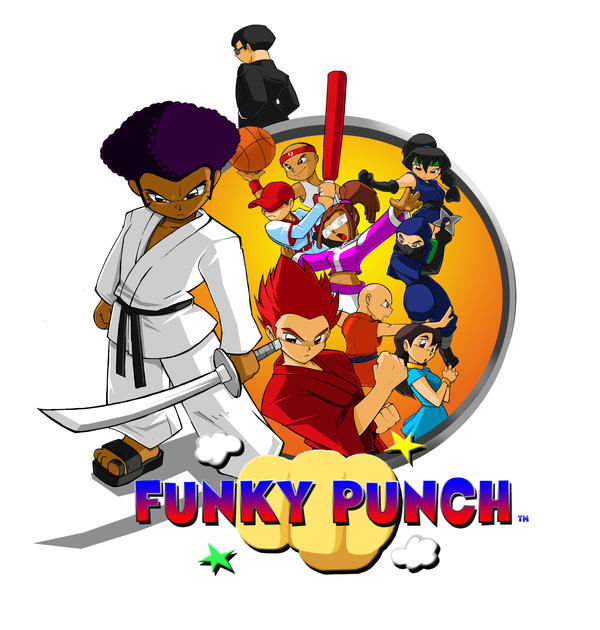 Funky Punch cover Commission by ShoNuff44 on DeviantArt