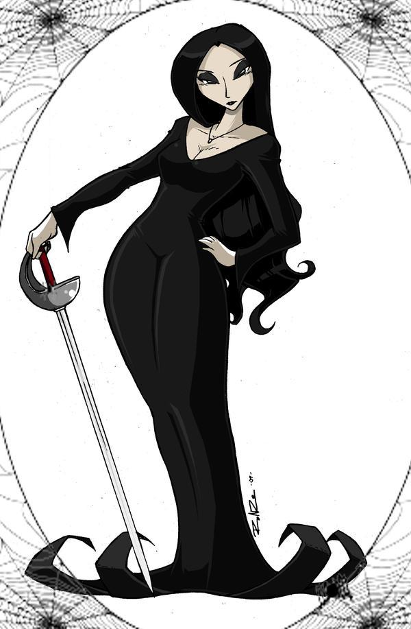 Morticia Addams by ShoNuff44