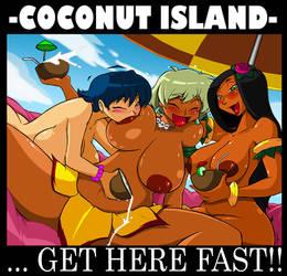 Hula Girl Comm: Nude Beach II by ShoNuff44