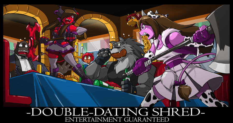 Dragonman32 com: Double Dating by ShoNuff44