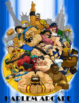 THE GRAPPLERS OF CAPCOM COMM.