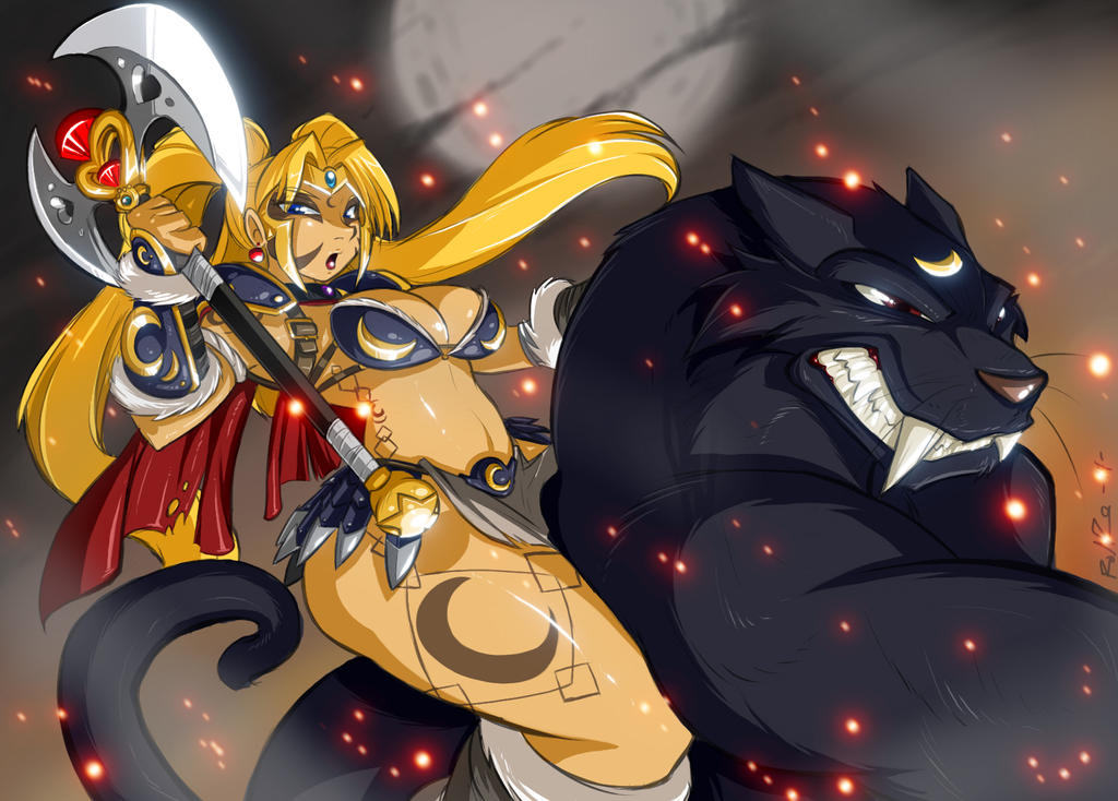Savage Sailor Moon by ShoNuff44