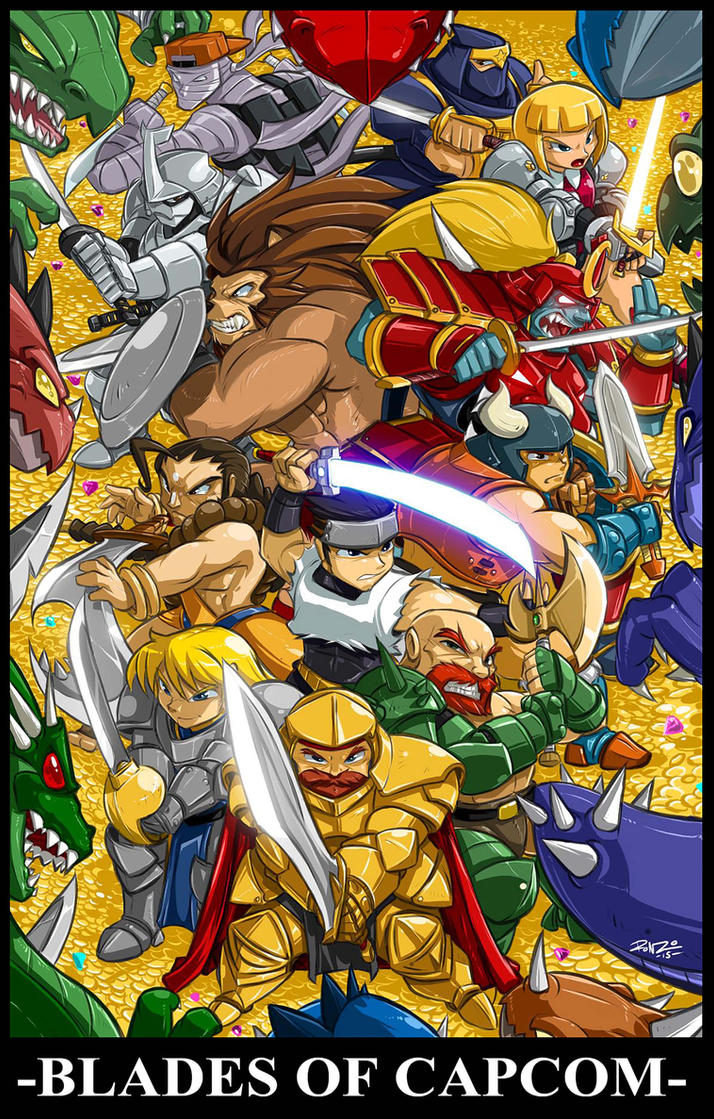 CAPCOM FIGHTING TRIBUTE PIC one :Capcoms Blades by ShoNuff44
