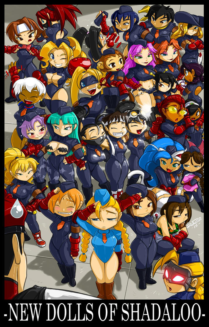 CAPCOM FIGHTING TRIBUTE PIC2:New Dolls of Shadaloo by ShoNuff44