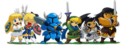 Hero Line Up -CONAN- by ShoNuff44