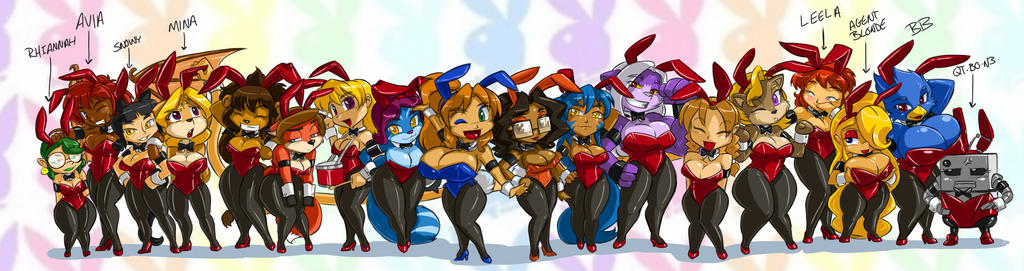 Toppy's Bunnies line up 16 by ShoNuff44