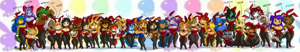 Toppy's Bunnies line up 32 by ShoNuff44