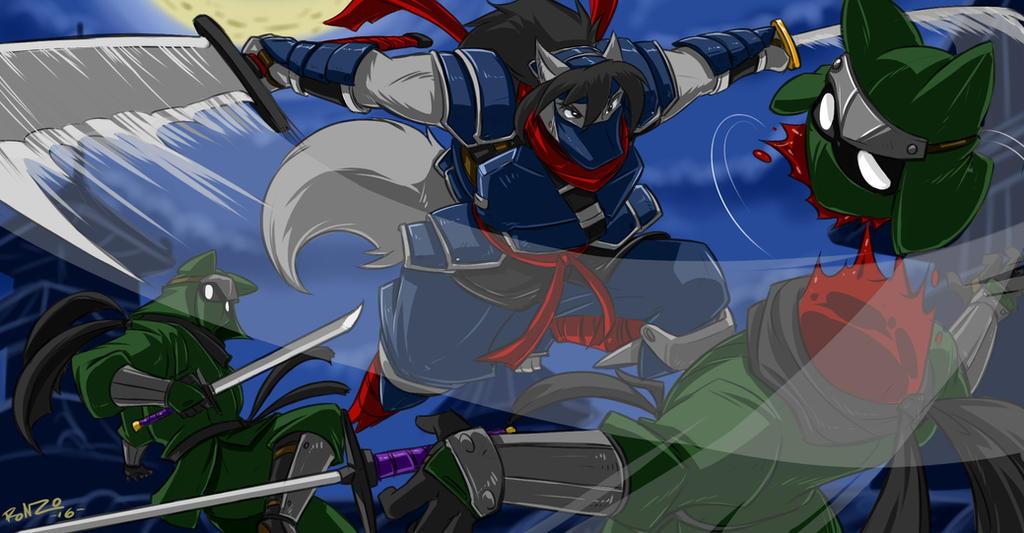 Shiro Comm Ninja Strike by ShoNuff44