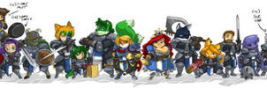 Pandora's Knights  Line Up 18 by ShoNuff44