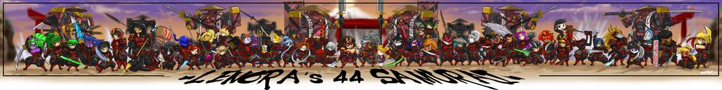 LENORA samurai line up 44 fn 2FN by ShoNuff44