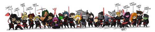 SQUEEK's Sith Line Up 22 by ShoNuff44