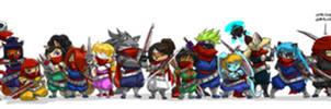 Strider Line Up 22