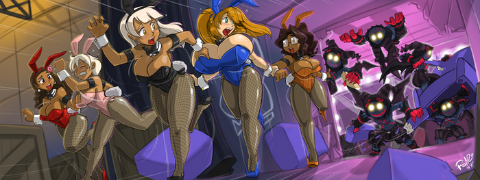 Oliver Comm: INVASION AT CLUB BUNNY