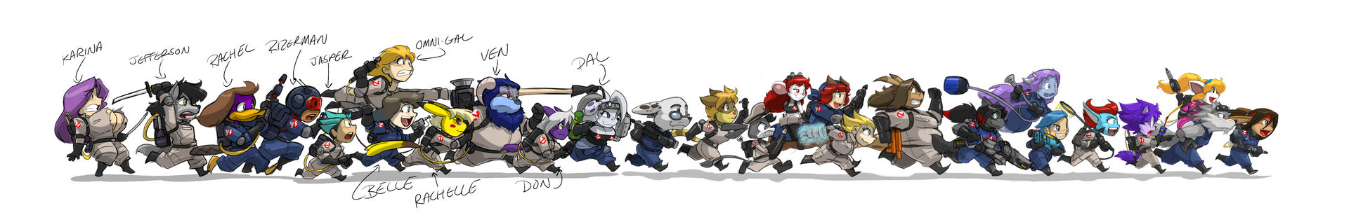 Ghostbusters Lineup - 22