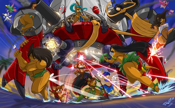 Paradise Avengers ASSEMBLE