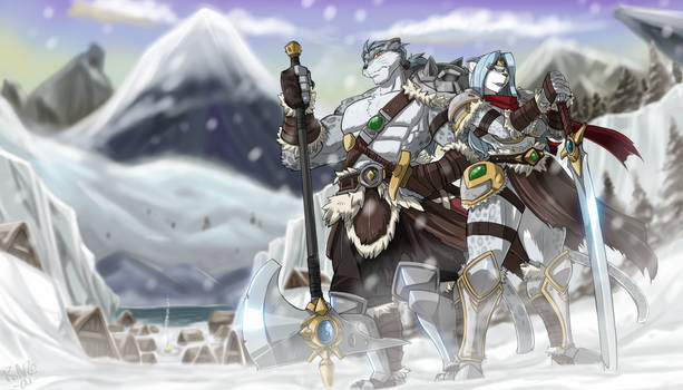 Griffin Comm: SNOW LEOPARD BARBARIANS