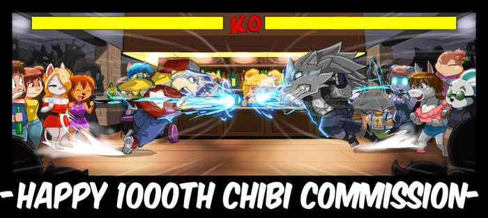 Sho's 1000th CHIBI Commission