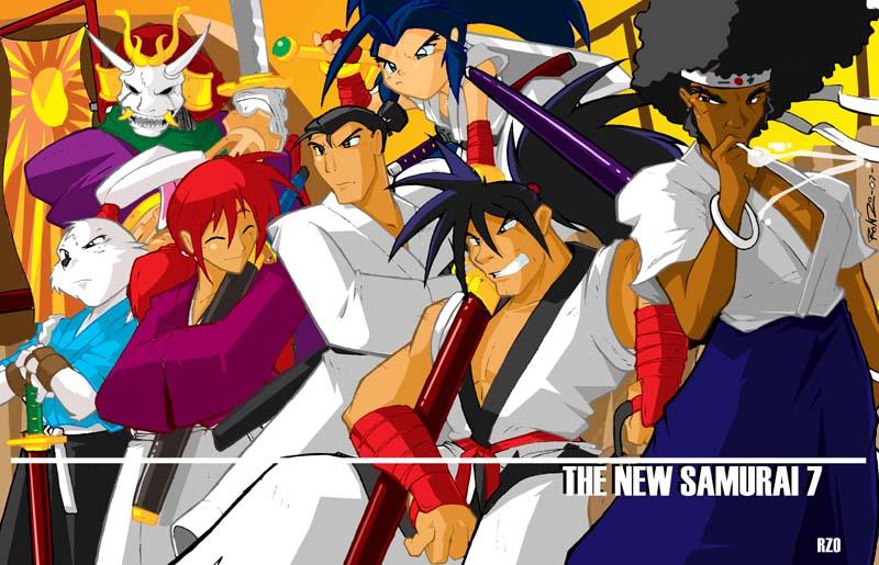 Samurai 7 Anime Characters : The new 7 samurai by shonuff44 on deviantart