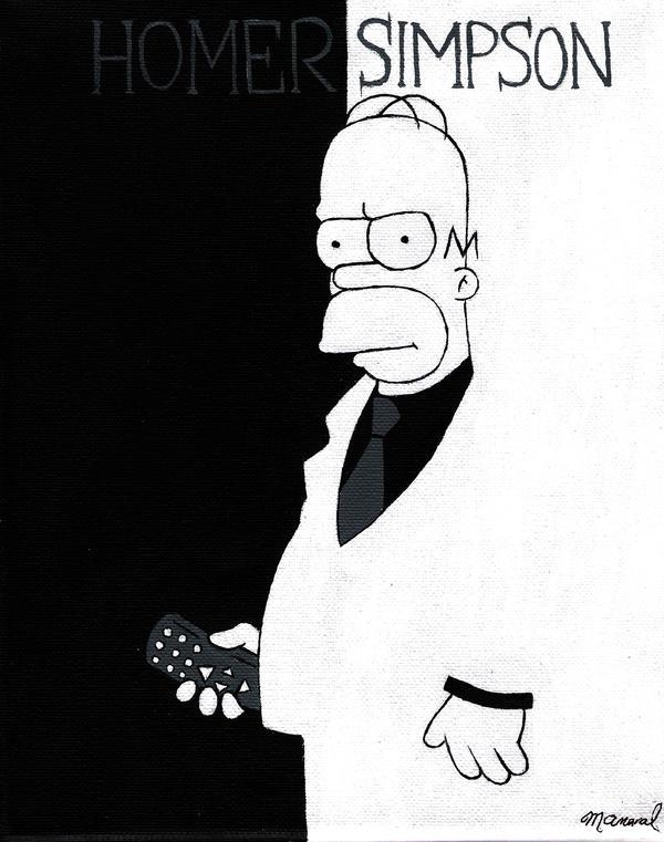 Homer Simpson by earth-hacker-ed