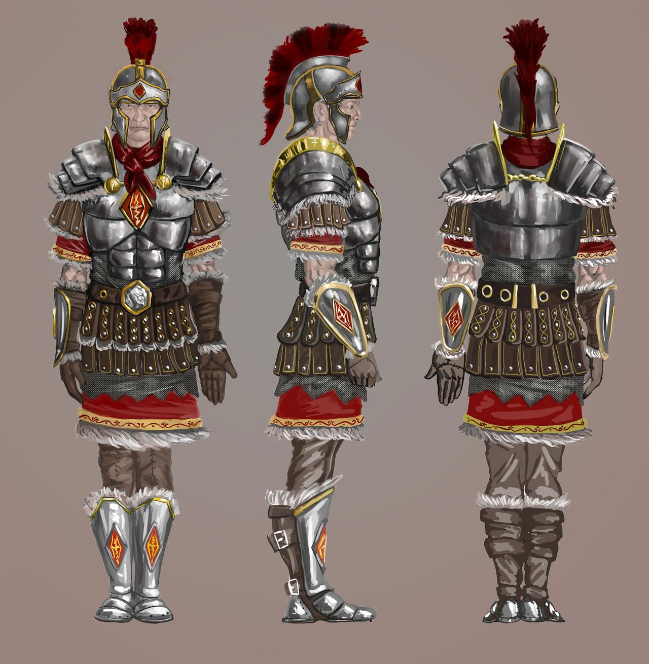 Legat of Skyrim legion by R-3h on DeviantArt