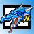 Avatar: Fierce Blue Dragon by FantasyStockAvatars