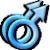 Avatar: Male Homosexual Symbol by FantasyStockAvatars