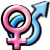 Avatar: Heterosexual Symbol by FantasyStockAvatars