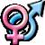 Avatar: Heterosexual Symbol by FantasyStockAvatars