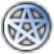 Avatar: Blue Pentacle Symbol by FantasyStockAvatars
