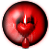 Avatar: Red Bleeding Heart Eye by FantasyStockAvatars