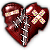 Avatar: Stitched Broken Heart by FantasyStockAvatars