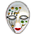 Avatar: Mardi Gras Mask 5 by FantasyStockAvatars