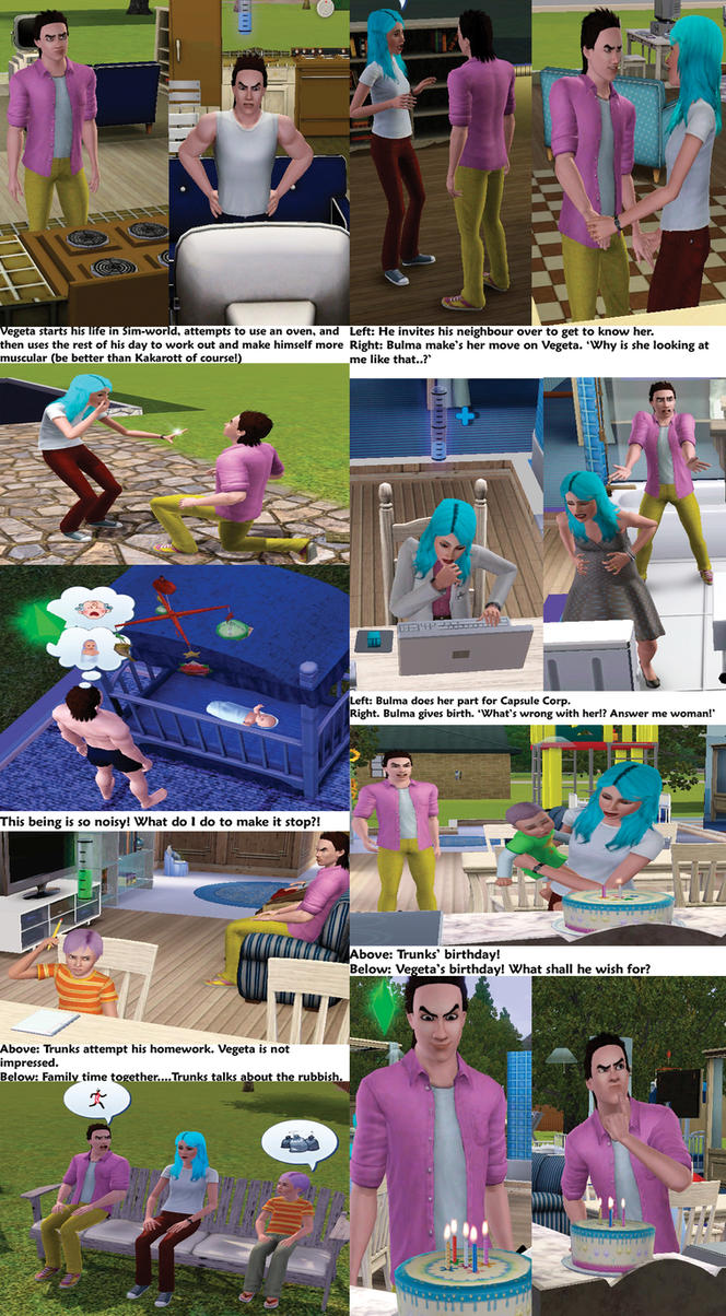 How to give birth to Sims 3