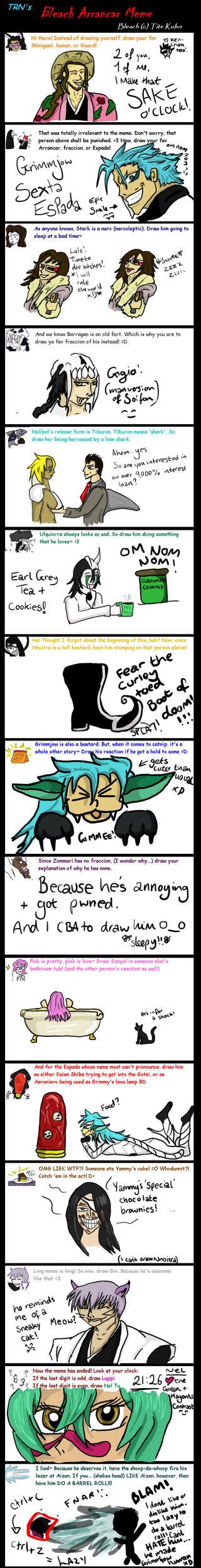 Bleach Arrancar Meme by Tartan-Faerie