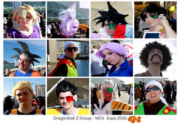 Dragonball Cosplay Group
